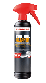Menzerna Control Cleaner spray top inspection