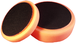 Polerrondell orange medium 77mm
