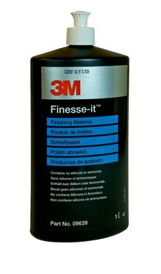 3M Finishing material cleaner 09639 Polervätska vit kork