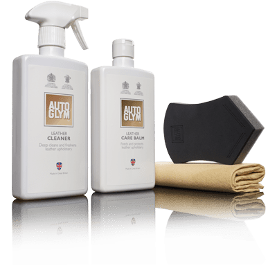 Autoglym Leather Clean & Protect Kit