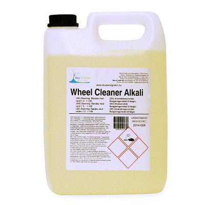 Blue & Green Wheelcleaner Alkali 5L