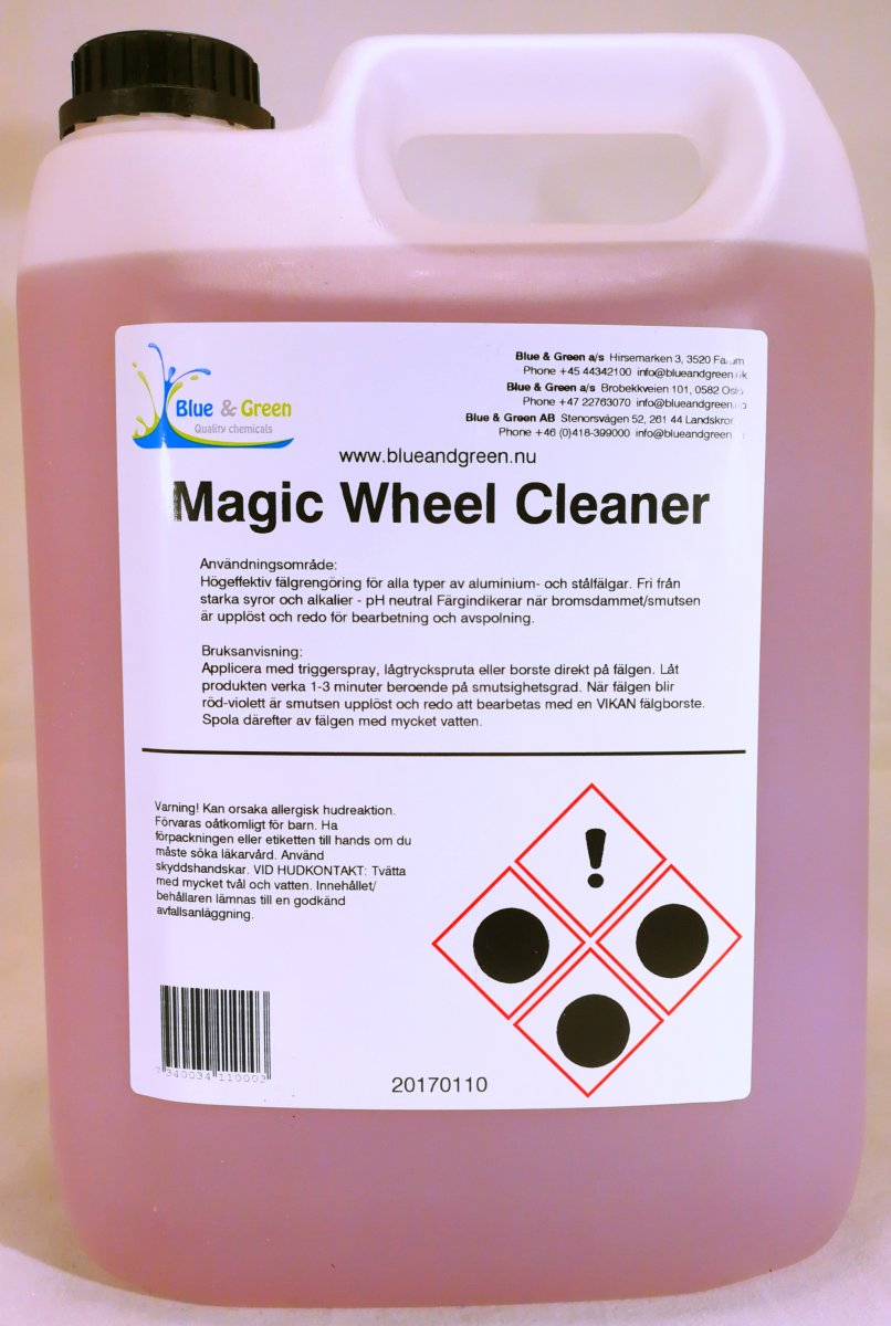 Blue Magic Cleaner : Blue green magic wheel cleaner l waxdog